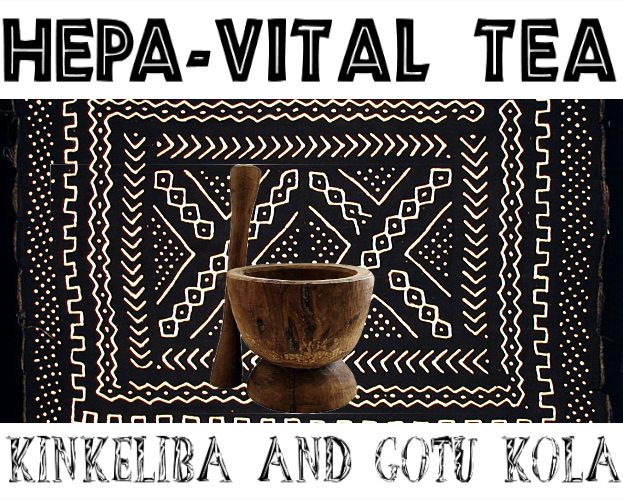 hepa-vital tea kinkeliba gotu kola bottle gourd herbs blend