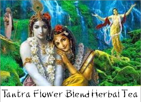 tantra flower blend herbal tea bottle gourd herbs