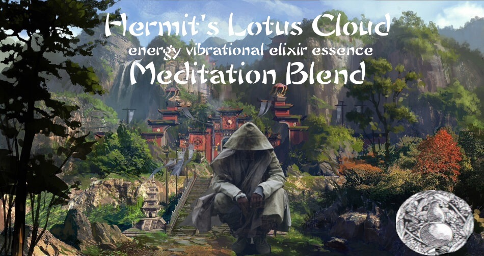 hermits lotus cloud energy vibrational elixir essence meditation blend tincture bottlegourdherbs.com
