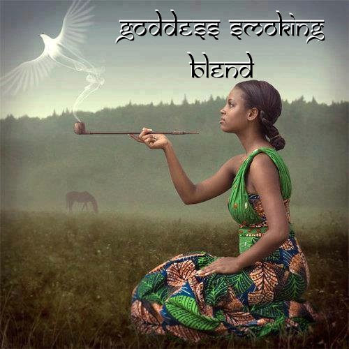 goddess herbal smoking blend women bottle gourd herbs