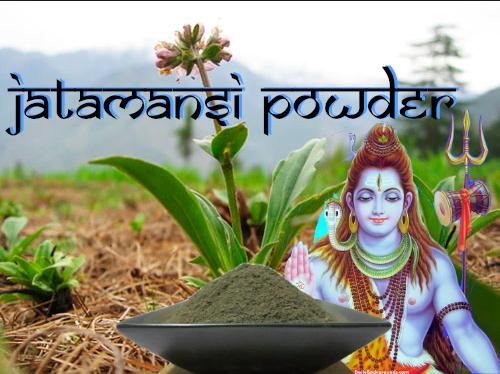 nardostachys jatamansi organic powder spikenard muskroot herbal incense bottle gourd herbs