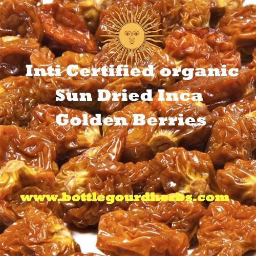 inti certified organic sun dried inca golden berries