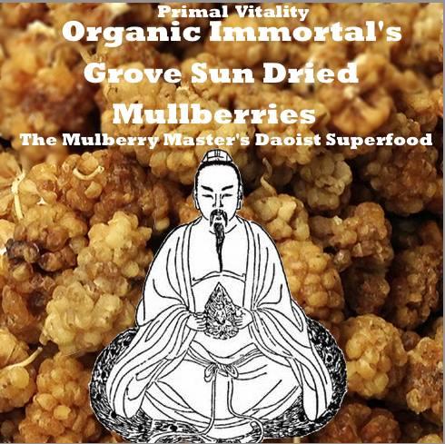 primal vitality organic immortals grove sun dried mulberries bottle gourd herbs