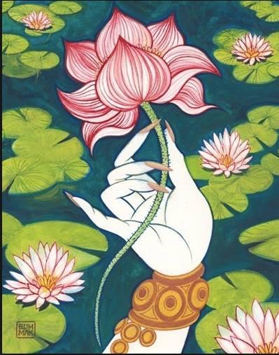 sacred lotus stamen siddha