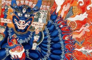 Tibetan Ghost and Demon Dispelling Incense Powder
