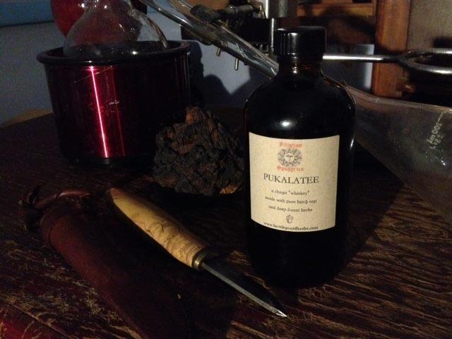 pukalatee bottle gourd herbs chaga