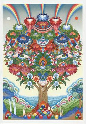 108 flower tibetan chulen bottlegourdherbs