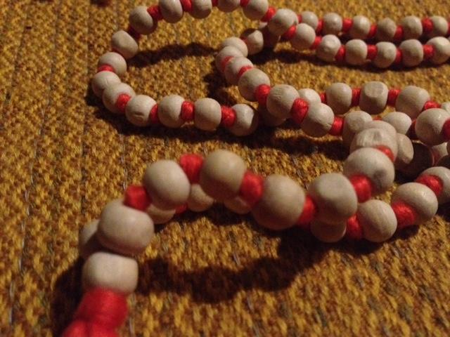 108 tulsi bead japa mala bottle gourd herbs