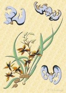 daoist spring forest orchid tea bottlegourdherbs.com